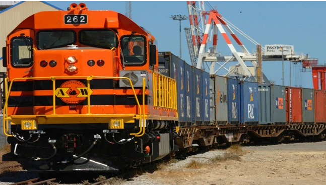 Rail Transport is suitable for large volume or bulky item that travel over long distances.